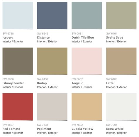 pottery barn wall paint colors quotes