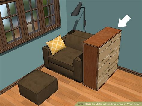 fold a nook 3 ways to make a reading nook in your room wikihow