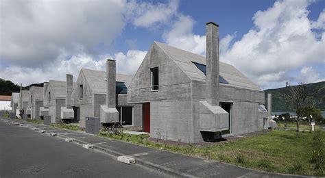 Design Of Houses by 27 Dwelling In Sete Cidades Eduardo Souto De Moura