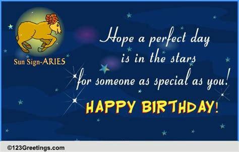 happy birthday aries  zodiac ecards greeting cards