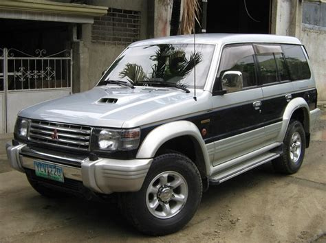 pajero mitsubishi 1998 duz888 1998 mitsubishi pajero specs photos modification