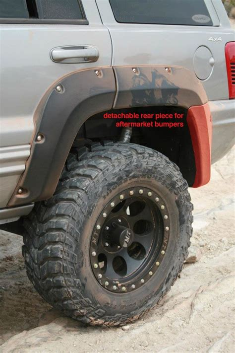 Jeep Wj Fender Flares Jeep Grand Wj Cut Out Fenderflares Cut Out