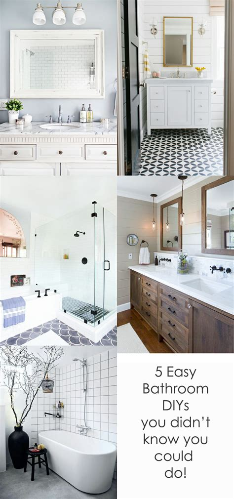 bathroom upgrades ideas 5 easy diy bathroom upgrades that will you