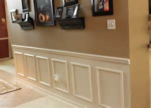 How To Do Wainscoting Boxes Need Your Opinion Painting A Wall General Chit Chat