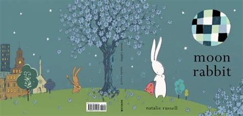 rabbit moon books children s illustration easter bunnies
