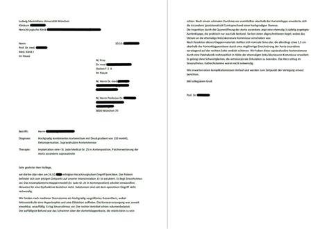 Antrag Psychotherapie Vorlage arztbrief