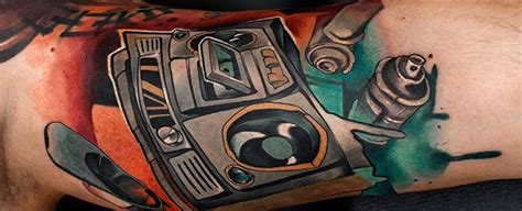 boombox tattoo designs 75 travel tattoos for adventure design ideas
