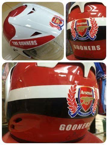 Helm Club Bola Mu Arsenal Chelsea helm motor club rp250 000 sudah sni standar nasional indonesia belum termasuk ongkos kirim