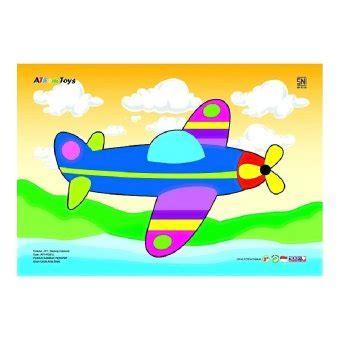 Atham Toys Puzzle Gambar Belalang by Atham Toys Puzzle Gambar Pesawat Lazada Indonesia