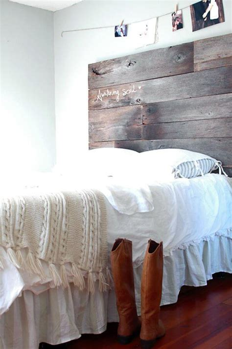 how to make a headboard out of wood 27 diy pallet headboard ideas 101 pallets