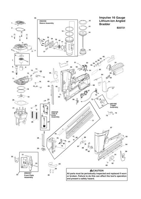 paslode framing nailer parts diagram genuine spare parts for all the brands from makita