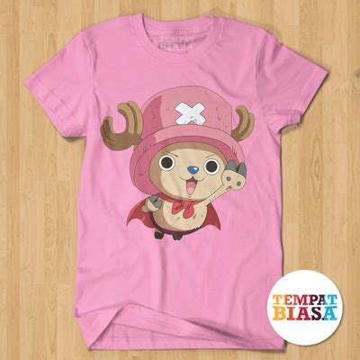 Kaos One Luffy Chooper anime one