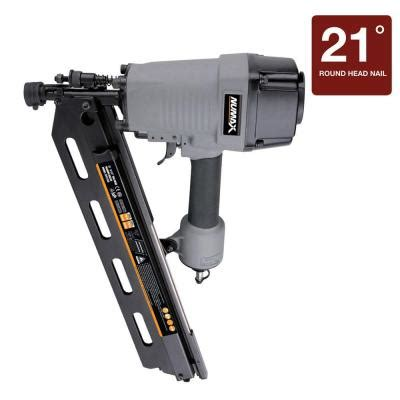 numax pneumatic 21 degree framing nailer