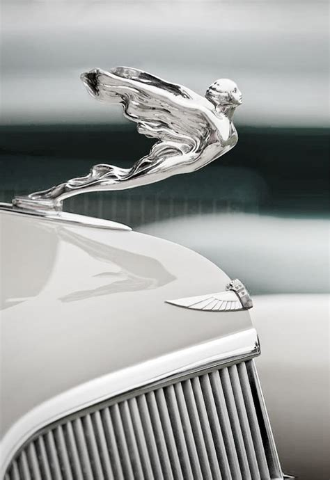 Lhood Had bentley reminds of the ornament had re chromed for dads truck brought to you
