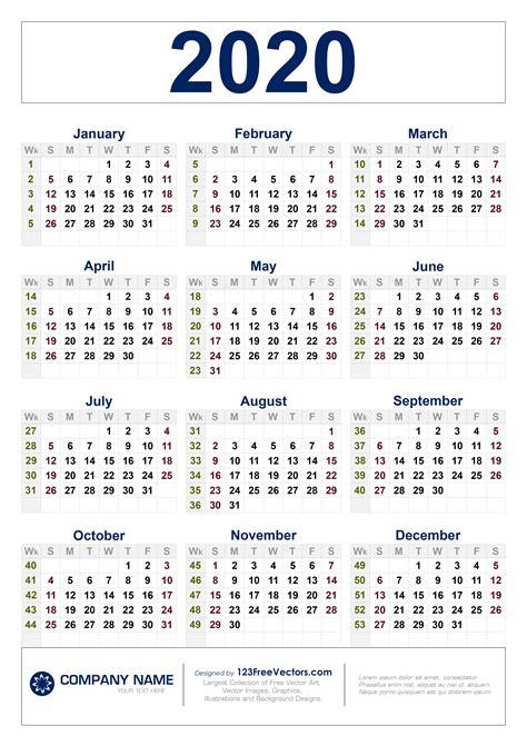 calendar  week numbers