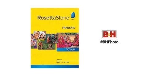 rosetta stone quebecois french rosetta stone french levels 1 5 27788mac b h photo video