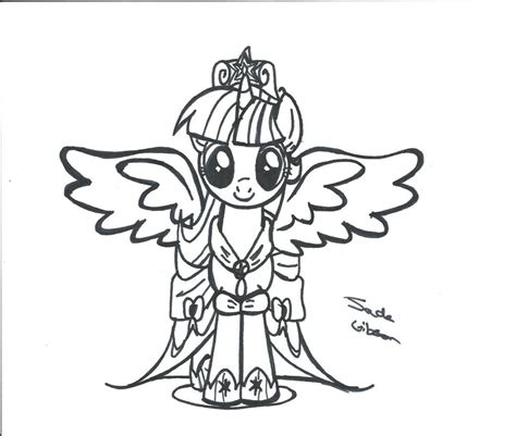 how to draw an alicorn princess from my little pony alicorn princess twilight sparkle by celestialbolt on