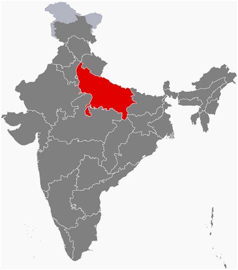 ups maps uttar pradesh