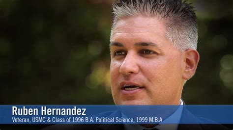 How Is Ucr Mba Program by Inside Ucr Ucr Alumni Ruben Hernandez Mba