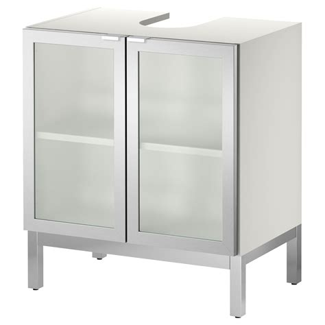 lill 197 ngen sink base cabinet with 2 door aluminum ikea to create storage around pedestal