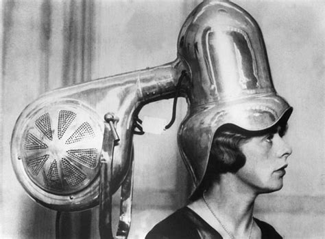 Hair Dryer History the hair dryers used back in 30s and 40s