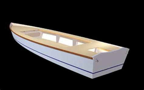 flats skiff boat plans flats skiff 18 woodenboat magazine