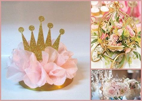 baby shower flower centerpiece ideas at this princess baby shower be sure to create something