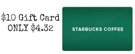 10 Dollar Starbucks Gift Cards - 10 starbucks gift card only 4 32