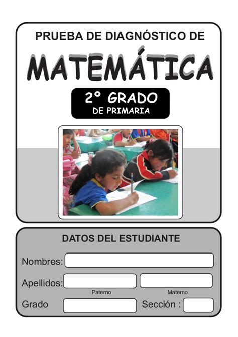 examen de la ugel de cuarto grado de primaria2016 matematica segundo grado 1