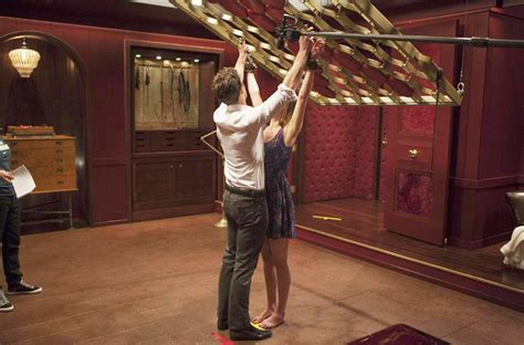 wohnung christian grey fiftys dornan photos bts from quot fifty shades of grey quot