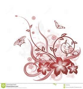 Phot Motif beau motif de fond de fleur photos libres de droits