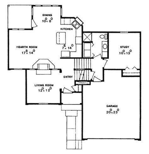 cricket hollow colonial home plan 086d 0079 house plans