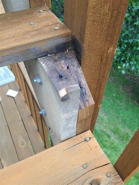 amatuer redwood deck repair    worth