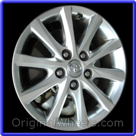 2011 Toyota Camry Lug Pattern 2011 Toyota Camry Rims 2011 Toyota Camry Wheels At