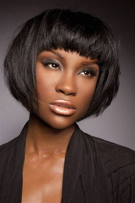bobs on african american women short bob hairstyles for african american women http www