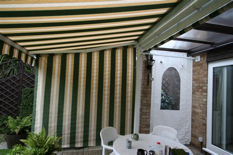side awnings for patios side curtain loring 018 kover it blog