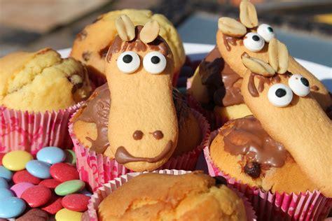 kuchen kindergeburtstag pferd muffins f 252 r kleine pferdeliebhaber kindergl 252 ck der