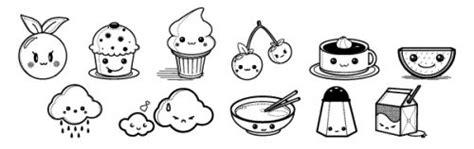 imagenes de kawaii food para colorear im 225 genes kawaii para colorear bonitos dibujitos animados