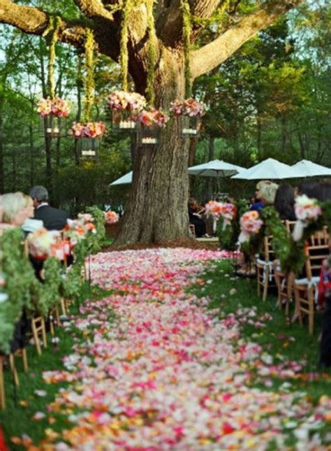 Backyard Wedding Ceremony Decoration Ideas Picture Of Amazing Backyard Wedding Ceremony Decor Ideas 11