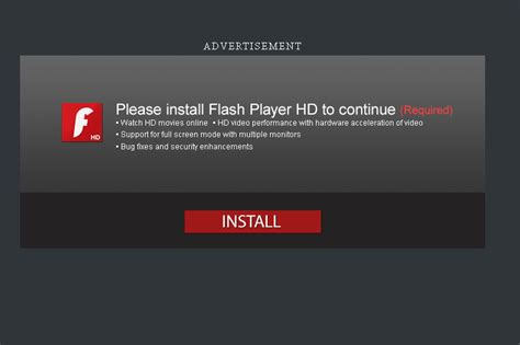 flash install personal tech warning adobe flash player installer is a malware trap