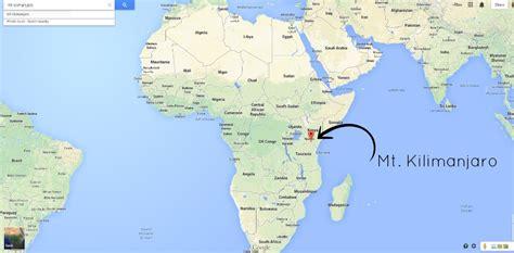 africa map kilimanjaro mt kilimanjaro africa map