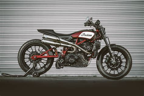 Indian Moto Scout Ftr 1200 by Indian Scout Ftr1200 Custom Concept Bike Unveiled