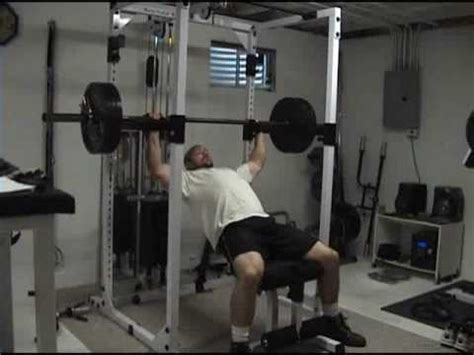 partial bench press incline barbell bench high rep partials for upper chest