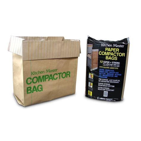 Garbage Compactor Bags | kitchenaid paper trash compactor bags 41207001 12 bags