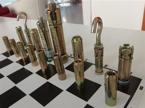 how to make a macgyver style chess set using just nuts how to make a macgyver style chess set using just nuts