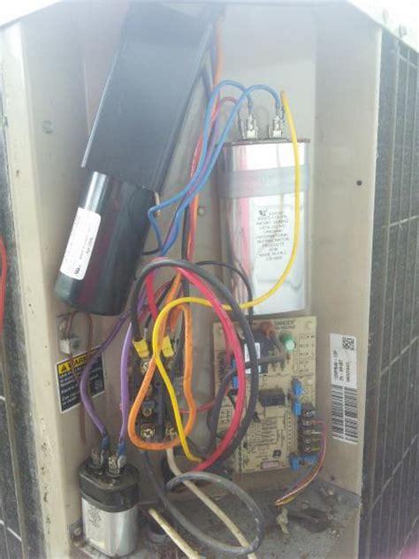 ac compressor capacitor bad compressor bad caps and quot kickstart quot doityourself community forums