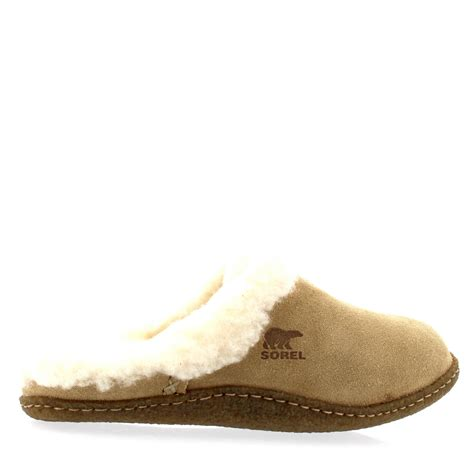 sorel womens slippers womens sorel nakiska slide open back warm cosy winter fur