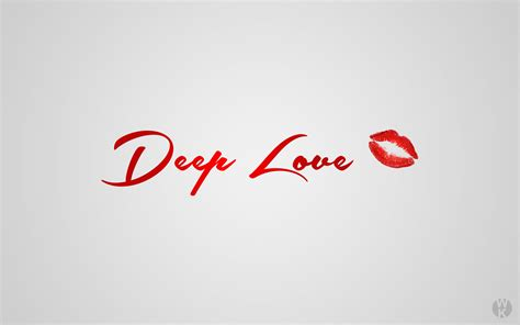 deep love hd typography  wallpapers images