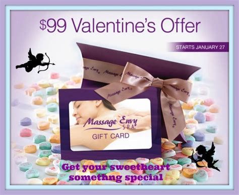 How Can I Check My Massage Envy Gift Card Balance - valentines day gift guide massage envy dfw 99 promotional offer 183 dallas single mom