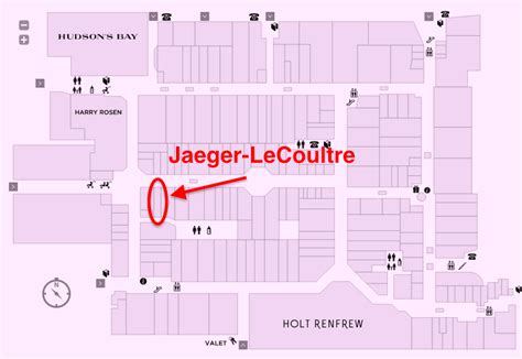 Yorkdale Mall Floor Plan by Jaeger Lecoultre To Open Two Canadian Locations This Year